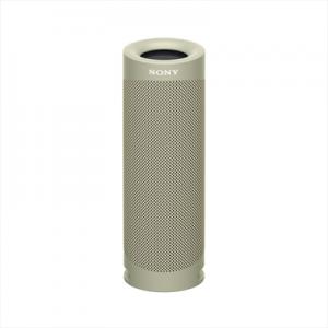 Sony Srs Xb23 Speaker Bluetooth Waterproof Cassa Portatile con Autonomia Fino A 12 Ore Taupe