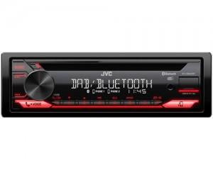 Jvc KD-DB622BT Ricevitore Multimediale per Auto Nero 200W Bluetooth