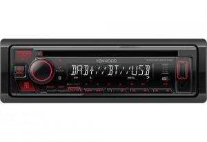 Kenwood KDC-BT450DAB Sintolettore Cd Dab+ Fm Rds Bluetooth Antenna Inclusa