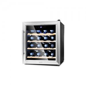 Cecotec Cantinetta Vini 1600 Silence Wood 16 Bottiglie Temperature 10/18 Gradi