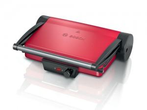Bosch TCG4104 Griglia a Contatto Alluminio/Rosso