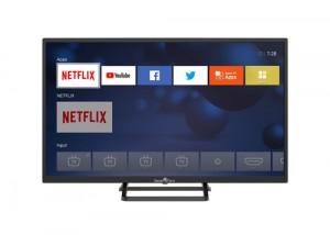 Smarttech Lcd Smt32n30hv1u1b1 Hd Smart T 32'  Hd Ready, Smart Tv Linux ,  Dvb-t2 H265/hevc