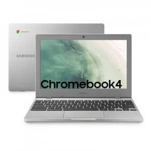 "Samsung Chromebook Intel Celeron 4Gb Hd 64Gb eMMC 11.6"" Chrome Os Argento"