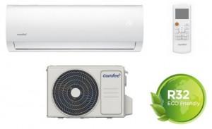 Comfee Climatizzatore Monosplit 12000 Btu Inverter Pompa di Calore Gas R32
