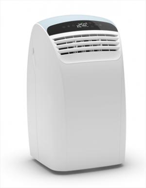 Olimpia Splendid Dolceclima Silent 12 P Wifi Climatizzatore Portatile 12.000 Btu/h Classe energetica A+ Gas R290 Touchscreen Display Timer 12h Funzione Auto Funzione Sleep Bianco