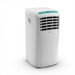 Olimpia Splendid Dolceclima Compact A+ Climatizzatore Portatile 8.000 Btu/h Classe energetica A+ Gas R290 Timer 12h Display LCD Funzione Sleep Bianco