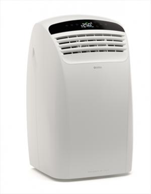 Olimpia Splendid Dolceclima Silent 10 P Wifi Climatizzatore Portatile 10.000 Btu/h Classe energetica A Gas R290 Display LCD Timer 12h Funzione Auto Funzione Sleep Bianco
