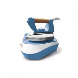 MELCHIONI FAMILYPratica Ferro da Stiro con Caldaia Potenza 2000 Watt Capacità 500 ml Colore Azzurro