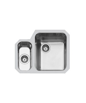 Lavello Sottotop 2 Vasche Inox Spazzolato Foster 1309 861 - 1309861