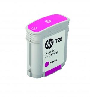 Cartuccia Inchiostro Magenta Designjet 728, 40 ml Originale HP F9J62A