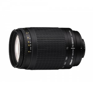 Obiettivo Nikon AF Zoom-Nikkor 70-300mm f/4-5.6G (Black)