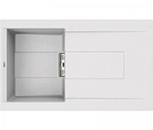 Lavello Smart 400 86x51,5 1 Vasca con Gocciolatoio Bianco 68 Elleci LGI40068SMT