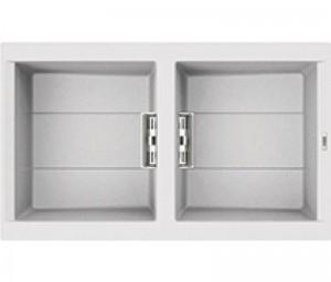 Lavello Smart 450 86x51,5 2 Vasche Bianco 68 Elleci LGI45068SMT