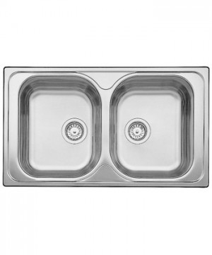 Lavello da Incasso 2 Vasche Blanco TIPO 8 1324949