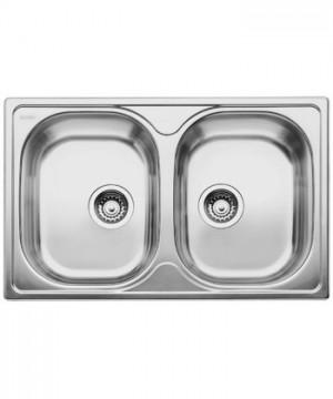 Lavello da Incasso 2 Vasche Blanco TIPO 8 Compact 1314686