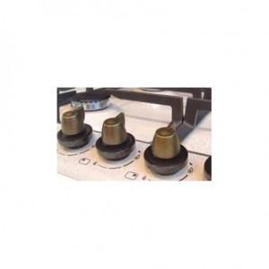 Kit 4 manopole bronzo anticato. Per piano cottura Plados MABRO60