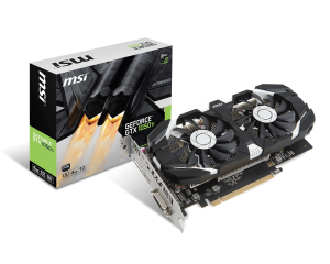 Scheda Video MSI GeForce GTX 1050 Ti 4GB 4GT OC