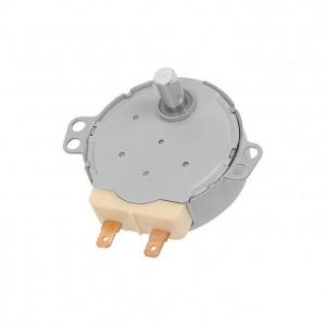 Motore per piatto girevole del microonde con albero Rex Electrolux Zanussi AEG Originale 50293713009