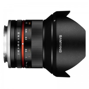Obiettivo Samyang 12mm f/2.0 NCS CS Black (M4/3)