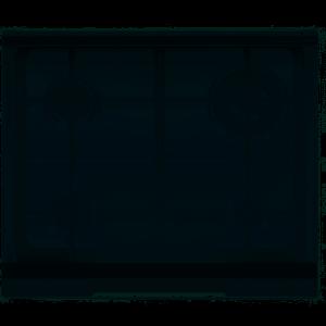 Coperchio vetro fumè per piani linea Slim Profile da 60 cm Electrolux EHLSL60K