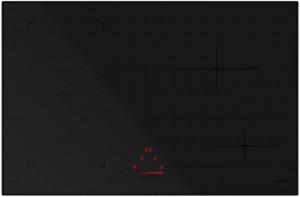 Piano Cottura da Incasso ad Induzione 78 BRIDGE NERO OPACO  Schock STIB84BKM