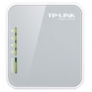 Router 3G/4G TP-LINK TL-MR3020 Portatile Wireless N 150Mbps