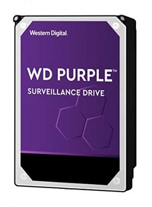 Hard Disk Interno Western Digital WD140PURZ WD Purple Videosorveglianza con Tecnologia Allframe 4K 3.5 Pollici SATA 6 GB/s 360TB/Anno, 512 MB Cache 7200 RPM, 14 TB