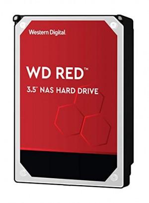 Hard Disk Interno Western Digital WD RED 4TB, SATA III, 6000 Mbit/s, 5400 rpm, 64 MB WD40EFAX