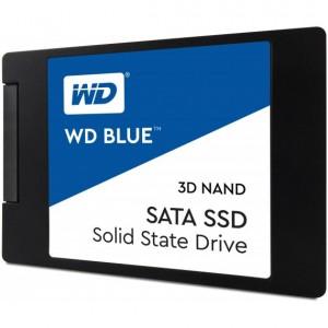 Hard Disk Interno Western Digital Blue 3D NAND SATA SSD 1TB Serial ATA III WDS100T2B0A