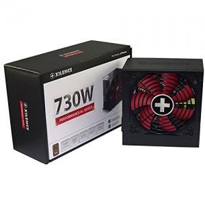 Alimentatore PC XN063 Xilence XP730R8 730W ATX Black (730 W, 110 - 240, Active, 24 A, 60.7 A, 20 A)