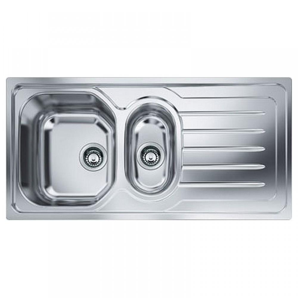 Lavello Cucina da Incasso 2 Vasche + Gocciolatoio Franke OLL 651 2 ...