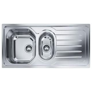 Lavello Cucina da Incasso 2 Vasche + Gocciolatoio 100x50 Franke OLL ...