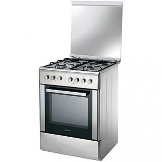 Cucina Libera Installazione 4 Fuochi a Gas CANDY CCG 6503 PX