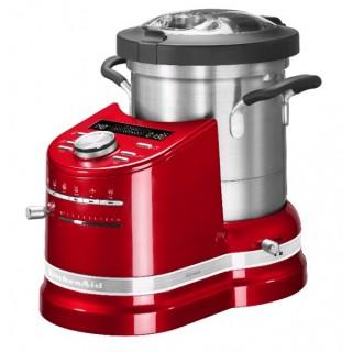 Robot Da Cucina Multifunzione Rosso Mela Kitchenaid 5kcf0104eca