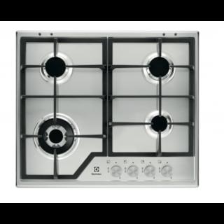 Piano Cottura da Incasso 4 Fuochi Gas Inox Rex Electrolux KGS6 436 SX