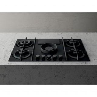 Piano Cottura Da Incasso Aspirante A Gas Con Cappa Integrata 4