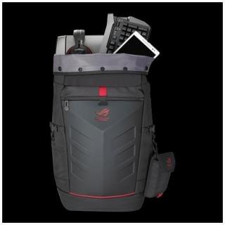 "ASUS ROG Ranger Backpack borsa per notebook 43,2 cm (17"") Zaino Nero, Rosso"