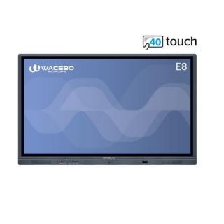 Wacebo Monitor Interattivo E8 4k 65 DBLWE-E8X-65-40T-4K