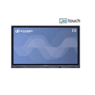 Wacebo Monitor Interattivo E8 4k DBLWE-E8-75-40T-4K