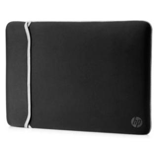 "HP 14"" Neoprene Reversible Sleeve borsa per notebook 35,6 cm (14"") Custodia a tasca Nero, Argento"