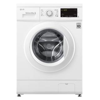 LG F2J3WN3WE lavatrice 6,5 kg Libera installazione Carica frontale 1200 Giri/min E Bianco