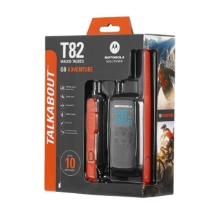 Motorola T82 Walkie Talkie 59T82PACK