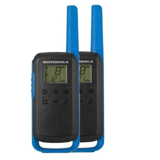 Motorola T62 Walkie Talkie Blu 59T62BLUEPACK